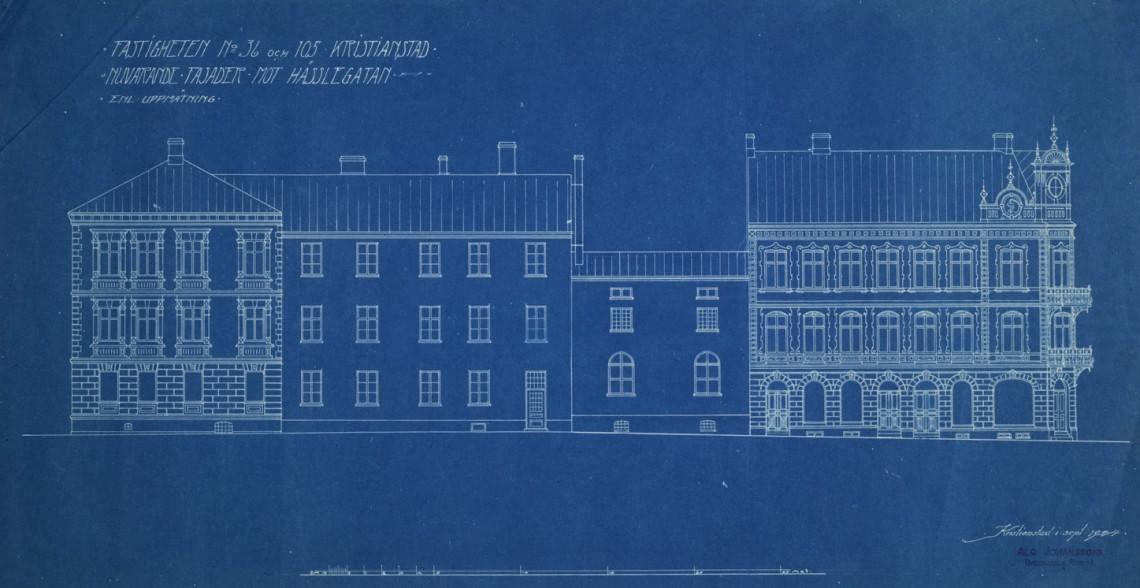 Fasader mot Hesslegatan