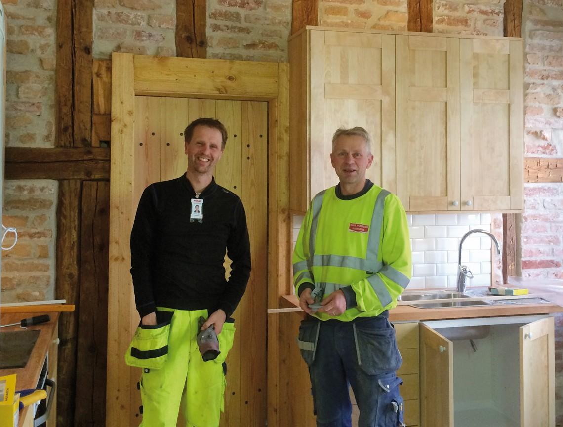 Renovering av lägenhet i Gauffinska gården.