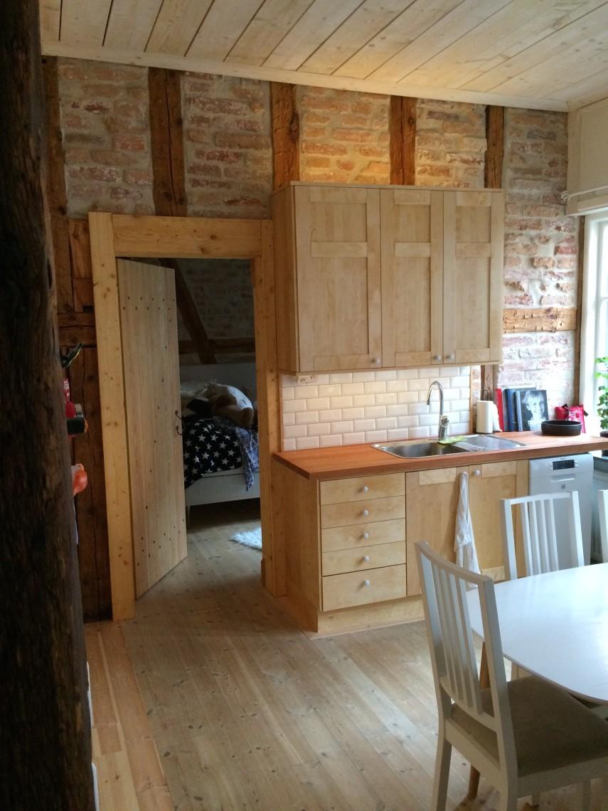 Två rum & kök i gårdshus